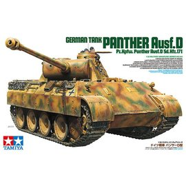 Tamiya Tamiya German Tank Panther Ausf. D 1:35 Scale Plastic Model Kit