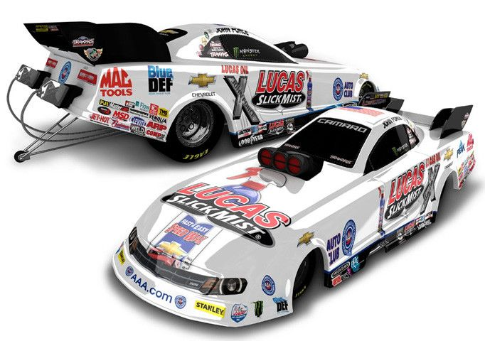 Action Racing Collectibles Action 2015 Chevy Funny Car Lucas Oil