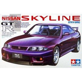 Tamiya Tamiya Nissan Skyline GT-R V-Spec 1:24 Scale Plastic Model Kit