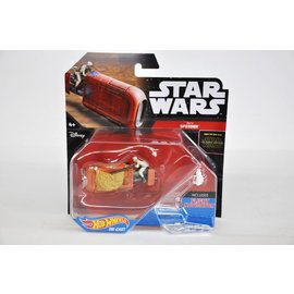 Hot Wheels Hot Wheels Star Wars Starship Rey's Speeder #18 Diecast Model Replica