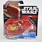 Hot Wheels Hot Wheels Star Wars Starship Rey's Speeder #18 Diecast Model Replica