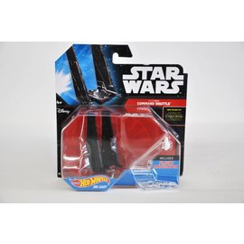 Hot Wheels Hot Wheels Star Wars Starship Kylo Ren's Command Shuttle #11 Diecast Model Replica