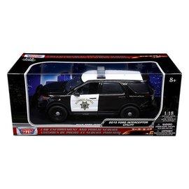 Motor Max Motor Max 2015 Ford Interceptor Utility Explorer CHP Highway Patrol 1:18 Scale Diecast Model Car