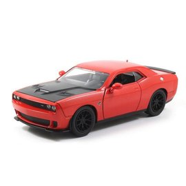 Jada Toys Jada 2015 Dodge Challenger SRT Hellcat Orange 1:24 Scale Diecast Model Car
