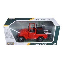 Motor Max Motor Max Toyota FJ40 No Top Red 1:24 Scale Diecast Model Car