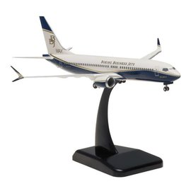 Hogan Wings Hogan Wings Boeing Business Jets Boeing 737 MAX 8 1:200 Scale Plastic Model Airplane