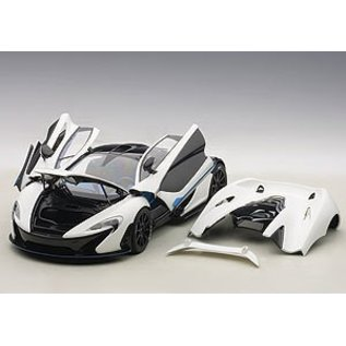 Auto Art Auto Art McLaren P1 In Matt White 1:18 Scale Composite Model Car