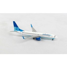 Gemini Jets Gemini Jets Pobeda Airlines Boeing B737-800 1:400 Scale Diecast Model Airplane