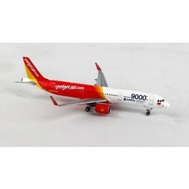 Gemini Jets Gemini Jets Viet Jet Air.Com Airbus A321 1:400 Scale Diecast Model Airplane