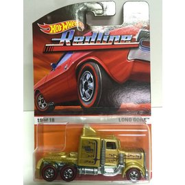 Hot Wheels Hot Wheels Redline Long Gone Gold Mattel 1:64 Scale Diecast Model Car