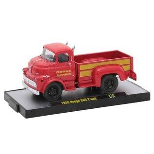 M2 Machines M2 Machines 1958 Dodge COE Truck Red Auto Trucks Release 38 1:64 Scale Diecast Model Car