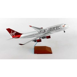 Gemini Jets Gemini Jets Virgin Atlantic Boeing B747-400 1:200 Scale Diecast Model Airplane