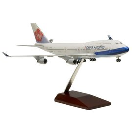 Hogan Wings Hogan Wings China Airlines Boeing B747-400 1:200 Scale Plastic Model Airplane