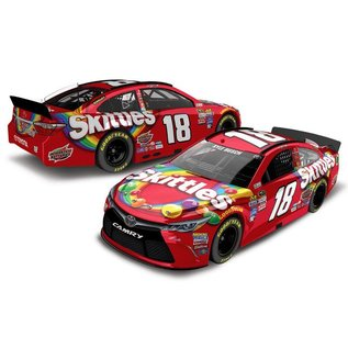 Action Racing Collectibles NASCAR 2016 Toyota Camry #18 Skittles Kyle Busch 1:24 Scale Diecast Model Car