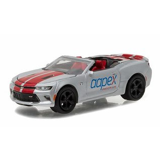 Greenlight Collectibles Greenlight 2016 Chevrolet Camaro SS Convertible AAPEX 1:64 Scale Diecast Model Car