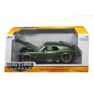 Jada Toys Jada Toys 1970 Ford Mustang Boss 429 Green 1:24 Scale Diecast Model Car
