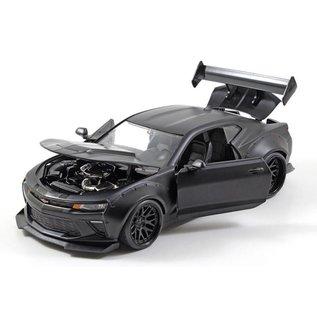 Jada Toys Jada Toys 2016 Chevy Camaro SS Black Wide Body 1:24 Scale Diecast Model Car