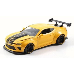 Jada Toys Jada Toys 2016 Chevy Camaro SS Yellow Wide Body 1:24 Scale Diecast Model Car