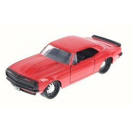 Jada Toys Jada Toys 1967 Chevy Camaro Red 1:24 Scale Diecast Model Car