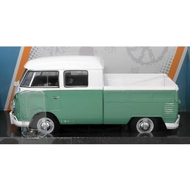 Motor Max Motor Max Volkswagen Type 2 (T1) Delivery/Pickup Green 1:24 Scale Diecast Model Car