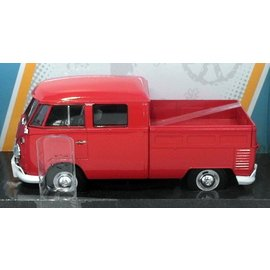 Motor Max Motor Max Volkswagen Type 2 (T1) Delivery Pickup Red 1:24 Scale Diecast Model Car