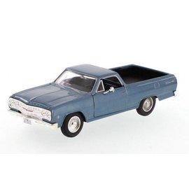 Maisto Maisto 1965 Chevrolet El Camino Blue 1:24 Scale Diecast Model Car