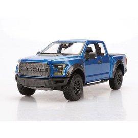 Maisto Maisto 2017 Ford Raptor Blue 1:24 Scale Diecast Model Truck