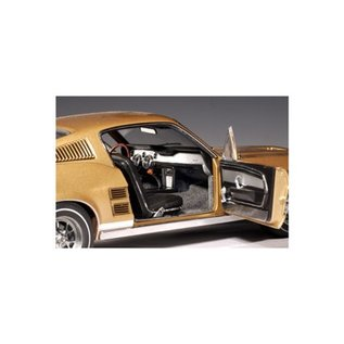 Auto Art Auto Art 1967 Ford Mustang GT390 Gold 1:18 Scale Diecast Model Car