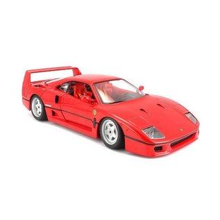 Bburago Bburago Ferrari F40 Red 1:18 Scale Diecast Model Car