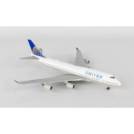 Gemini Jets Gemini Jets United Airlines Boeing B747-400 1:400 Scale Diecast Model Airplane