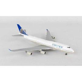 Gemini Jets Gemini Jets United Airlines Boeing B747-400 1:400 Scale Diecast Model Airplane