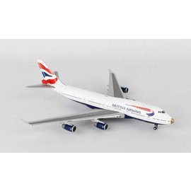 Gemini Jets Gemini Jets British Airways Boeing B747-400 1:400 Scale Diecast Model Airplane
