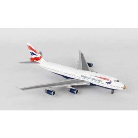 Gemini Jets Gemini Jets British Airways Boeing B747-400 1:400 Scale Diecast Model Airplane