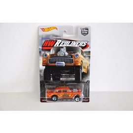 Hot Wheels Hot Wheels Car Culture 1955 Chevy Bel Air Gasser Orange 1:64 Scale Diecast Model Car