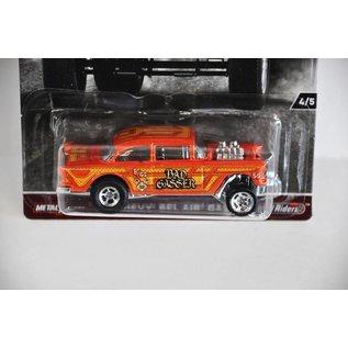 Hot Wheels Hot Wheels Car Culture 1955 Chevy Bel Air Gasser Orange 1:64 Scale Diecast Model Car