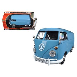 Motor Max Motor Max Volkswagen Type 2 T1 Delivery/Pickup Light Blue 1:24 Scale Diecast Model Car