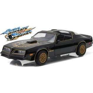 Greenlight Collectibles Greenlight 1977 Pontiac Trans Am Black Smokey And The Bandit 1:24 Scale Diecast Model Car