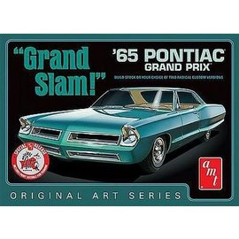 AMT AMT Grand Slam 1965 Pontiac Grand Prix Build Stock Or Custom Original Art Series With Print 1:25 Scale Plastic Model Kit