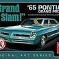 AMT AMT Grand Slam 1965 Pontiac Grand Prix Build Stock Or Custom Original Art Series With Print 1:25 Scale Plastic Model Kit