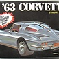 AMT AMT 1963 Chevrolet Corvette Sting Ray 1:25 Scale Plastis Model Kit