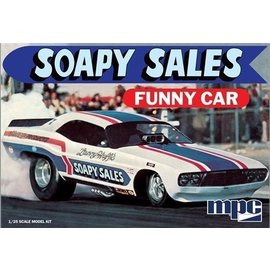 MPC MPC Soapy Sales Funny Car 1:25 Scale Plastic Model Kit