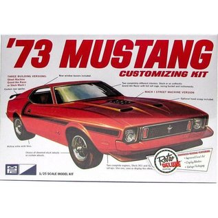 MPC MPC '73 Ford Mustang Customizing Kit Build 3 Different Ways 1:25 Scale Plastic Model Kit