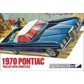 MPC MPC 1970 Pontiac Pick-Up/Open Sportster 1:25 Scale Plastic Model Kit