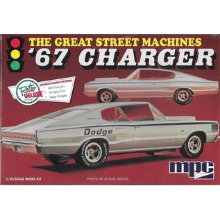 MPC MPC The Great Street Machines '67 Dodge Charger 1:25 Scale Plastic Model Kit