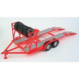 Replicarz Replicarz STP Tandem Race Trailer 1:18 Scale Die Cast Model Trailer
