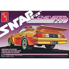 AMT AMT Snap Fit Custom 1980 Chevy Camaro Cheverra Z28 1:25 Scale Plastic Model Kit
