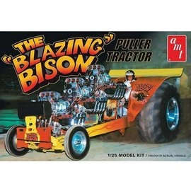 AMT AMT The Blazing Bison Puller Tractor 1:25 Scale Plastic Model Kit