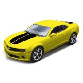 Maisto 2010 Chevy Camaro SS RS Yellow Maisto 1:18 Diecast Car