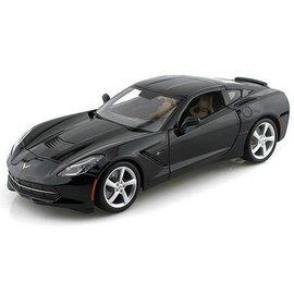 Maisto 2014 Chevy Corvette Stingray Black Maisto 1:18 Diecast