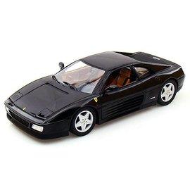 Mattel Ferrari 348 TS Black Mattel 1:18 Diecast